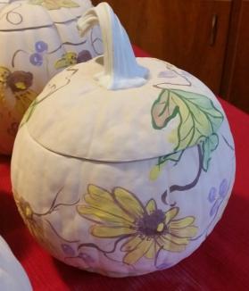 Pumpkin Seminar greenware design Jim