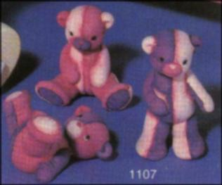 Scioto 1107 three soft teddies