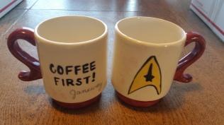Star Trek Janeway mug