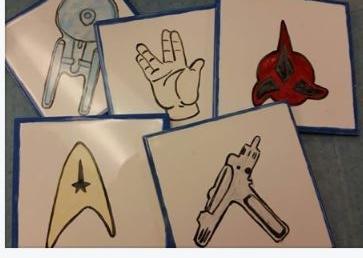 Star Trek Picnic Coasters
