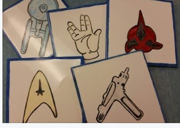 Star Trek Picnic Coasters