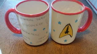 Star Trek Series mug