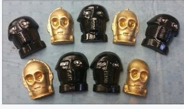 Star Wars Magnets -- Darth Vader & C3PO