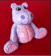 Yozi 1260 stuffed (soft) hippo or rhino