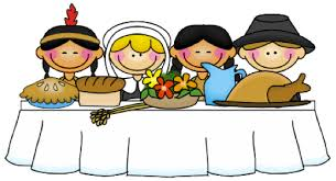 clipart thanksgiving table
