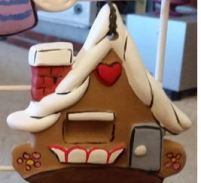 corky gingerbread house
