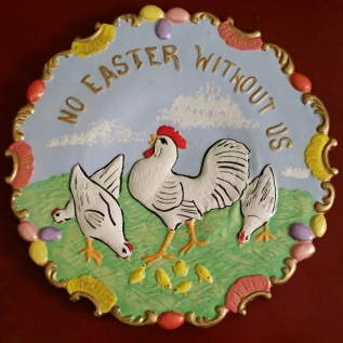 Easter plate CC
