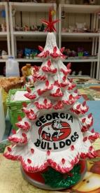 fb tree GA Bulldogs