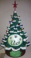 FB tree with cutout name