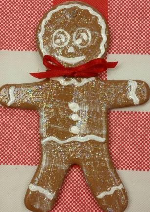 gingerbread boy orn