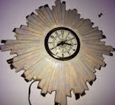 Holland 0655 sunburst clock