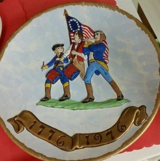 Holland 1794 Fife & Drum Plate CC