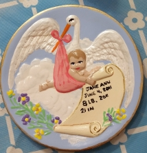 Holland baby plate CC