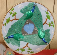 peacock plate CC (stains)