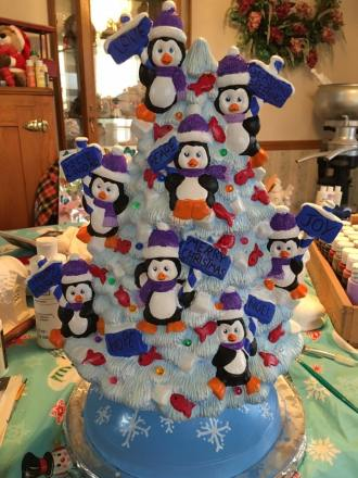 penguin tree