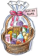 clipart gift basket