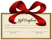 clipart gift certificate
