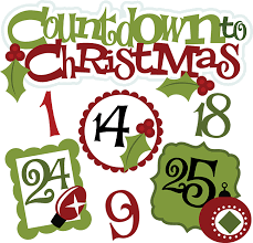 countdown to christmas clipart