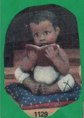 Clay Magic 1129 African American Boy with book