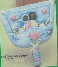 Clay Magic 477 dustpan (takes 470 AfAm children add-on)