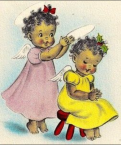 clipart African American girl on Pinterest