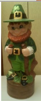 Alberta 0615 Leprechaun Decanter Irish Whisky