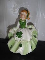 doll with shamrocks