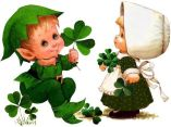 Irish girl & boy
