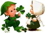 Irish girl & boy