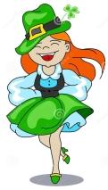 Irish girl dancer