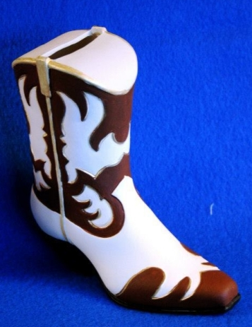 Duncan 163A cowboy boot bank