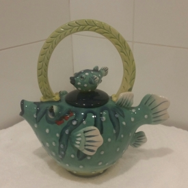 Aquarium of the Bay teapot