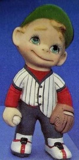 baseball smiley with mitt
