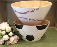 baseball & soccer ball bowls