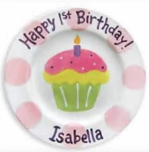 birthday plate idea (Cinsys Seaside Ceramics)