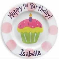 birthday plate idea (Cinsys Seaside Ceramics)