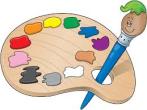 clipart paint pallet