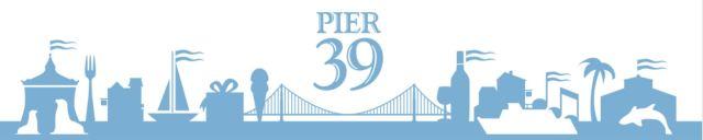 clipart pier 39
