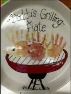 Daddys grilling plate