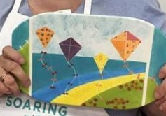 Dru with Kites