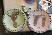 reindeer footprint plates DRU