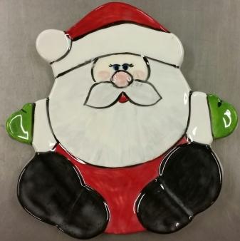 Santa Plate CC