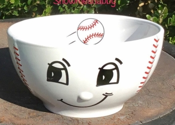smiling baseball bowl