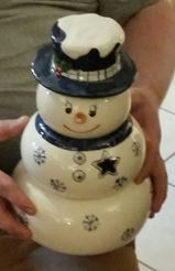 snowman snack stack Cowboys