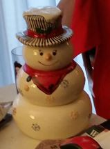 snowman snack stack Rail Baron game