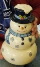 snowman snack stack US Navy