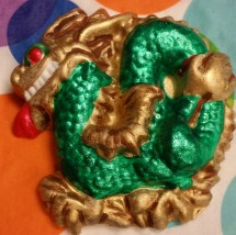 TM Porcelain mold Dragon magnet student