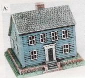 VIP 1668 Small Two-Story Clap Board House