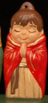 Alberta Ornaments 0069 praying monk