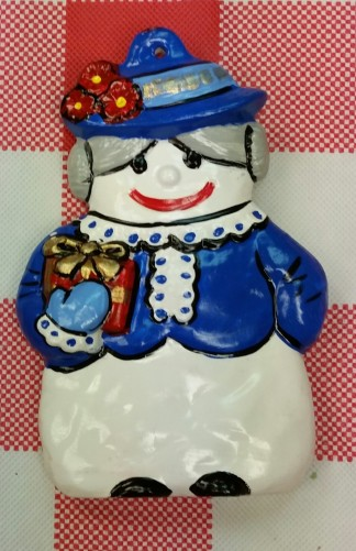 Alberta Ornaments 0135 Snow Lady CC